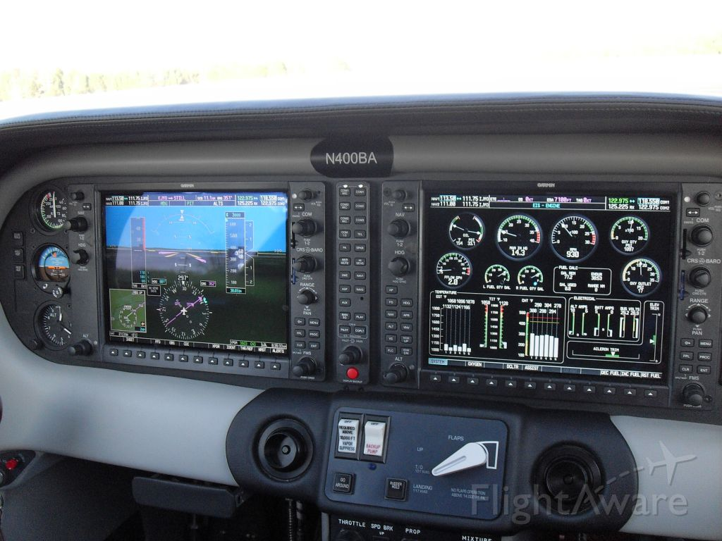 Cessna 400 (N400BA) - Extremely clean cockpit with no surprises on the engine system page