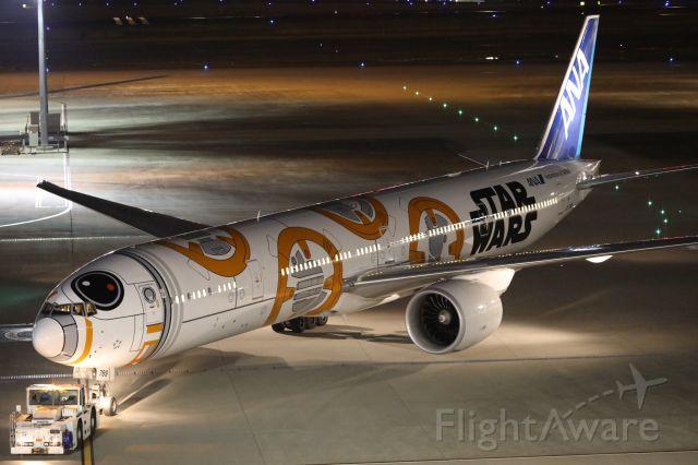 BOEING 777-300 (JA789A) - 01 April 2017:HND-LAX.