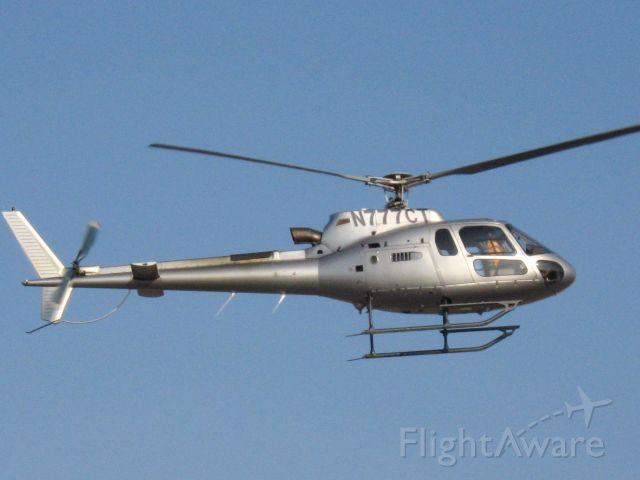 Eurocopter AS-350 AStar (N777CT) - Chopper lifting off from Santa Ana
