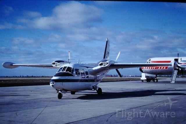 Cirrus SR-20 (VH-FSC) - Piaggio 166 at Essendon, circa 1968