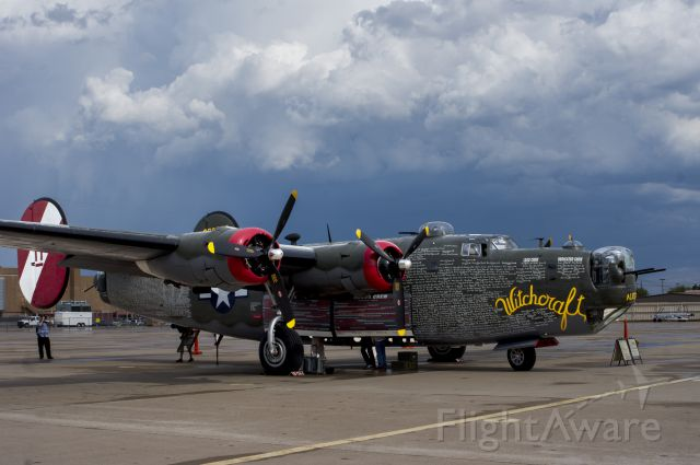 Consolidated B-24 Liberator (NX224J) - A real treat to see this WWII beauty come into town.