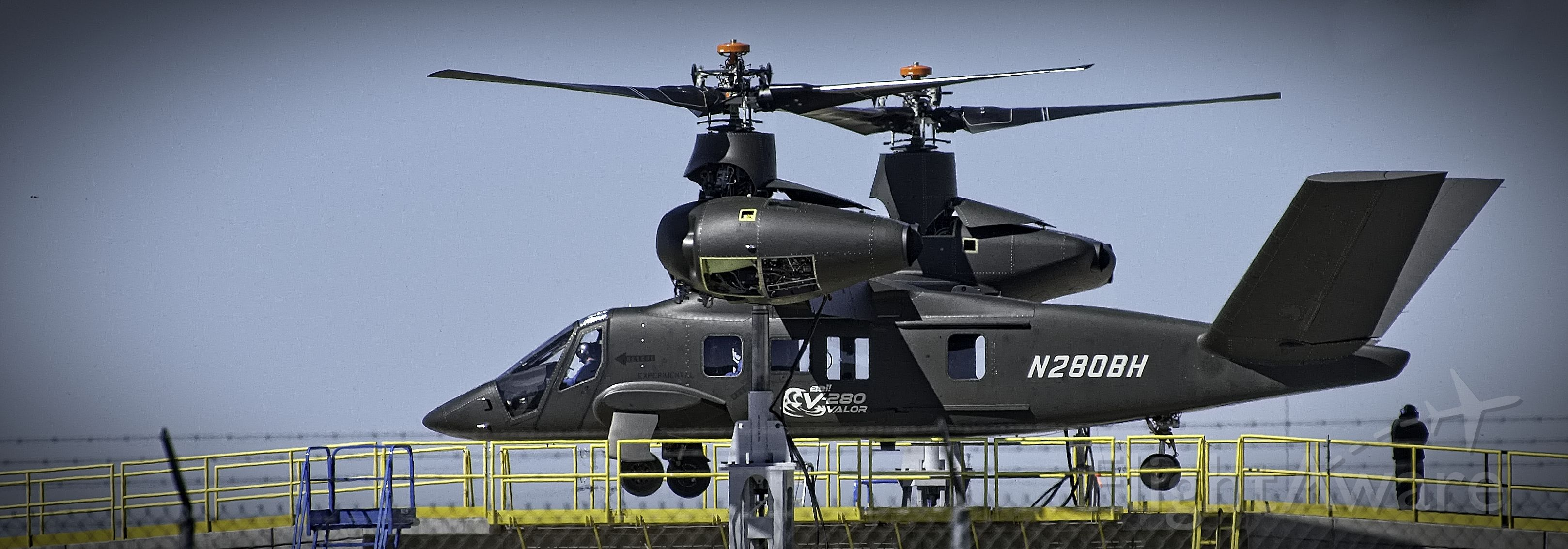 Experimental  (N280BH) - Prototype Bell V-280 VALOR up on the test pedestal at Bell Helicopter Plant in Amarillo, TX