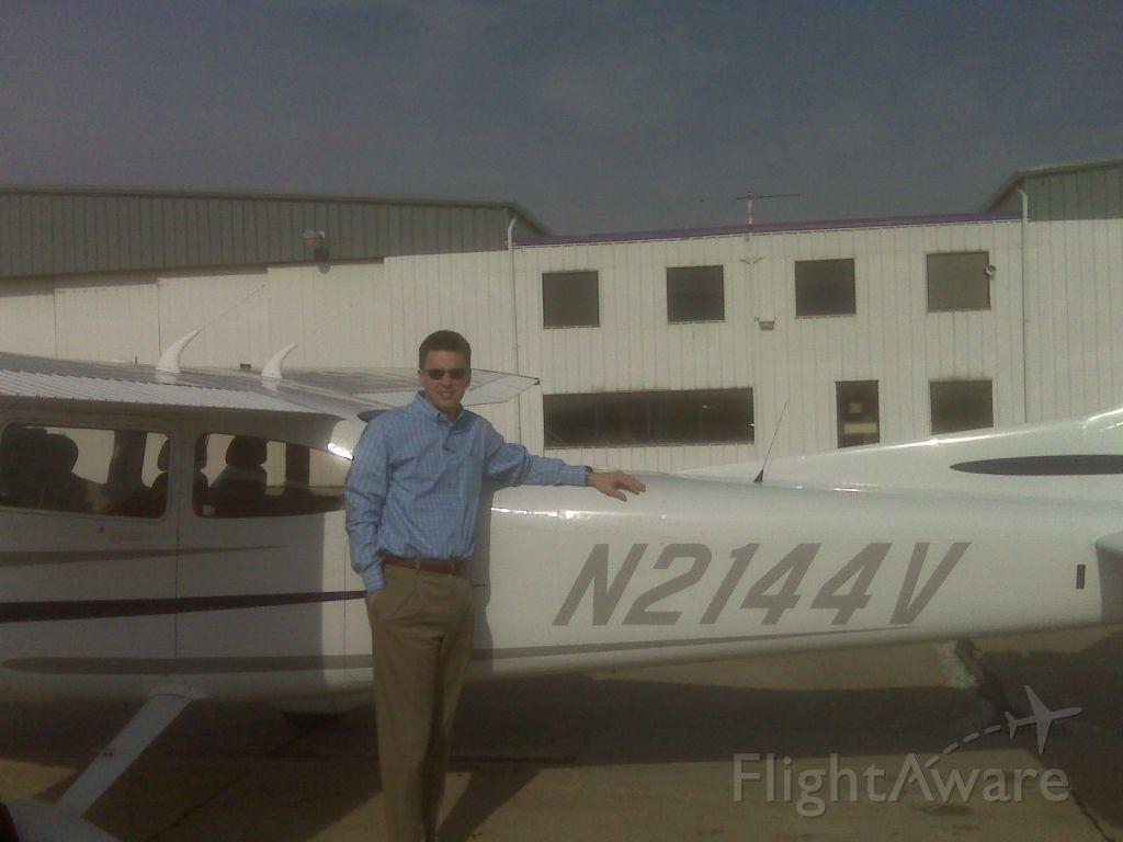 Cessna Skylane (N2144V) - Best damn FO in GA, Matt in Wichita.  Matt, did you check the oil?