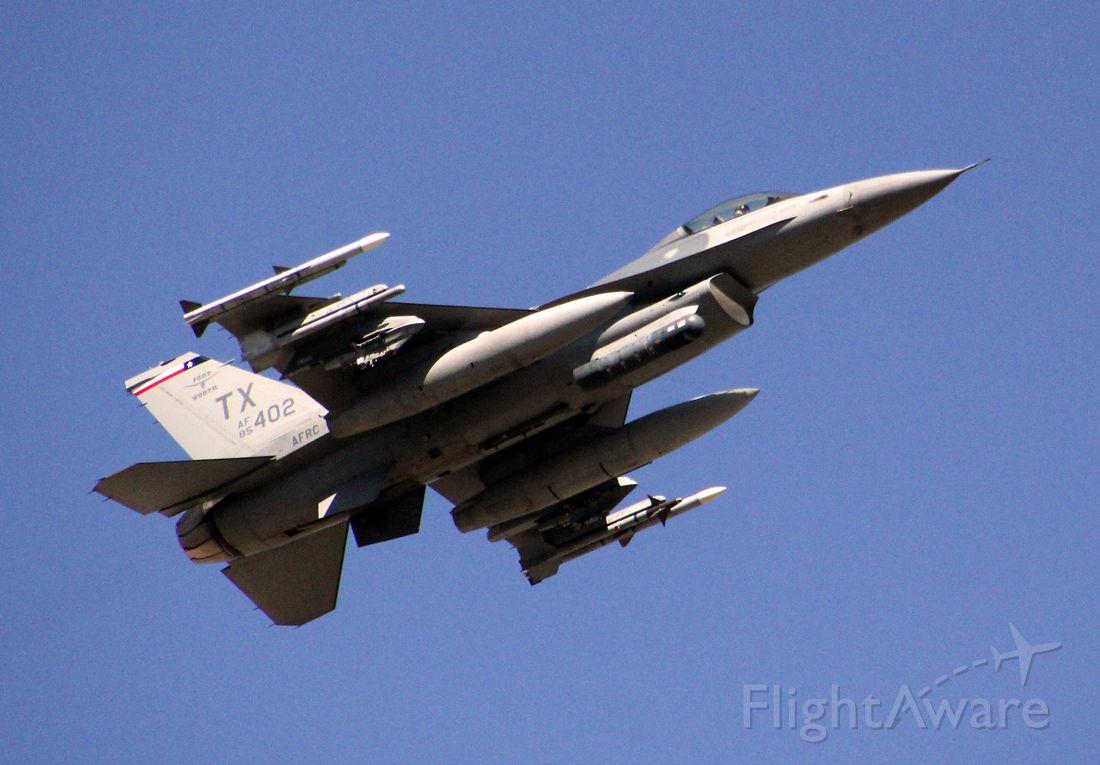 Lockheed F-16 Fighting Falcon (85-1402) - F-16C Block 30 TX/457th FS, 301st FW AFRC. Currently stored at AMARG