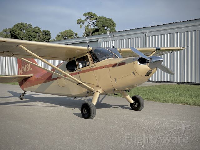 Piper 108 Voyager (N743C) - 1947 108-3 N743Cbr /Lycoming IO360 / 200HP