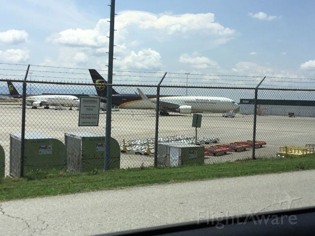 BOEING 767-300 — - Mechanical diversion was flying Jax-sdf