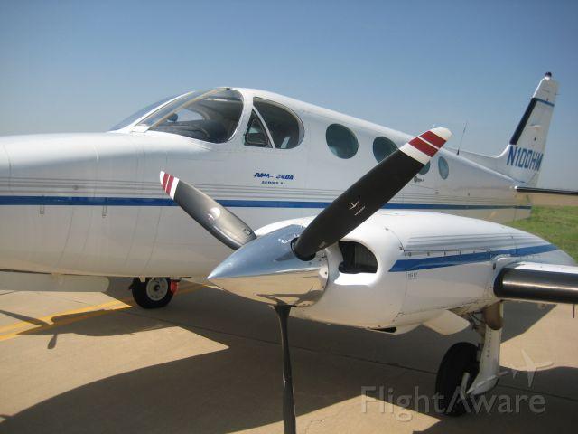 Cessna 340 (N100HM)