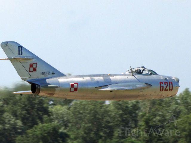 MIKOYAN MiG-17 (N620PF) - 1960 LIM-5