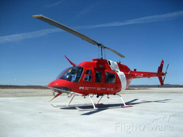 Bell JetRanger (C-GCHM) - Canadian Coast Guard