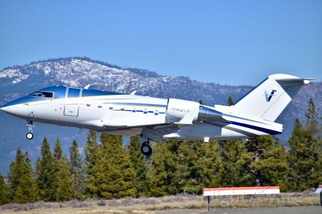 Canadair Challenger (N401VE)