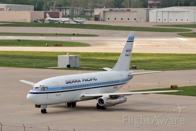 Boeing 737-200 (N703S) - Parked at Signature Flight Services on May 5, 2012.