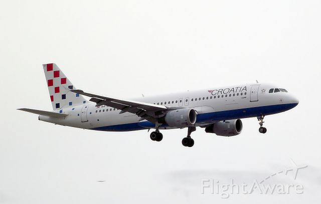 Airbus A320 (9A-CTF) - Croatia Airlines