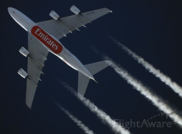 Airbus A380-800 (A6-EVE)
