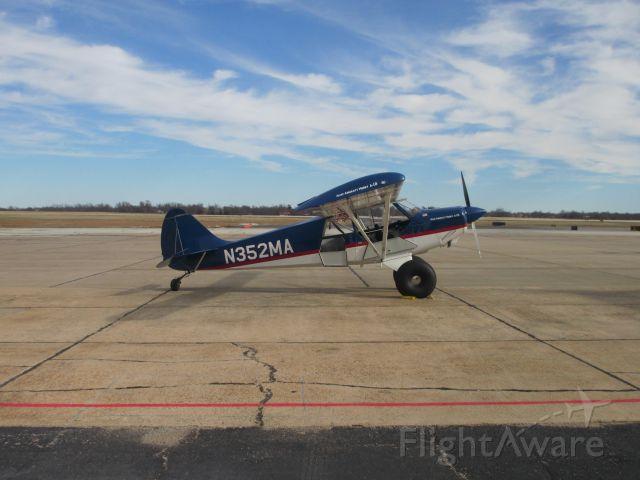 CHRISTEN Husky (N352MA) - N352Ma,a 2000 AVIAT AIRCRAFT INC A-1B,parked at Joplin.MO on 18 JAN 2015.