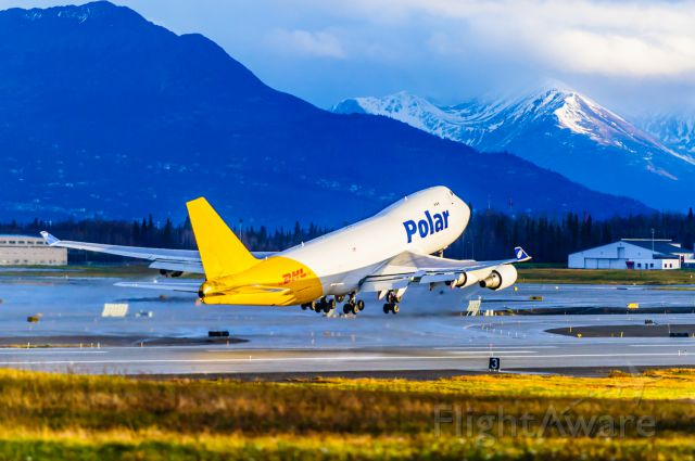 """Boeing 747-400 (N453PA) - Radiantly