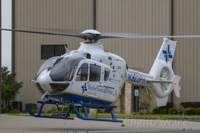 Eurocopter EC-635 (N323PH) - PHI Air Med1-5 departing from it's home base at Draughon-Miller Airport, Temple, Texas