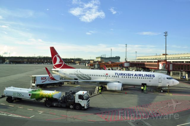 Boeing 737-800 (TC-JFD) - Turkish Airlines Boeing 737-8F2(WL) TC-JFD in Berlin Tegel