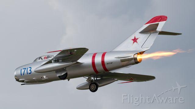 MIKOYAN MiG-17 (N1713P)