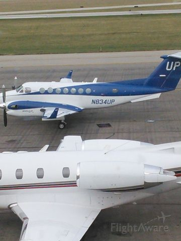 Beechcraft Super King Air 350 (N834UP) - The Wheels Up corporation in Morristown, NJ.
