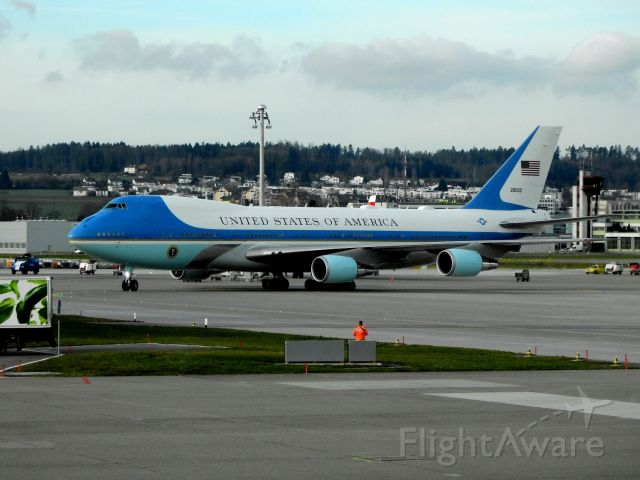Boeing 747-200 (29000) - Air Force One / Boeing 747-200B / VC-25A