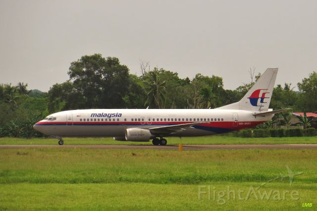 BOEING 737-400 (9M-MMG)