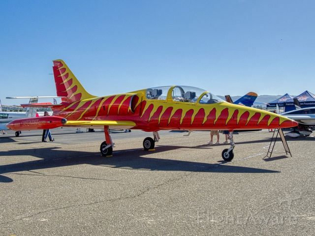 Aero L-39 Albatros (N39LW) - Aero Vodochody L-39 at Livermore Municipal Airport 06/2019 AOPA Flyin