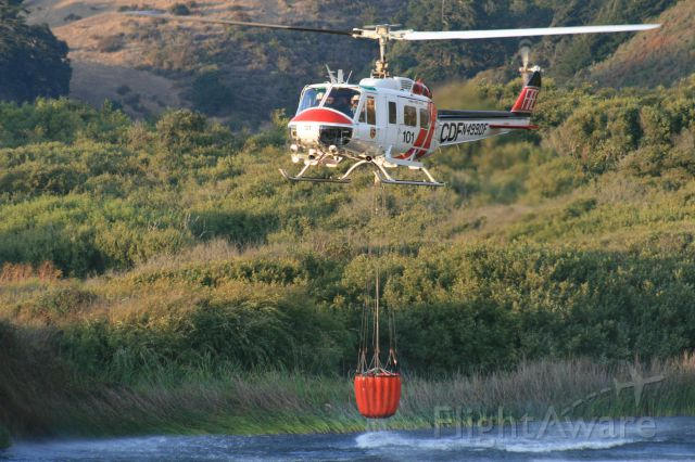 Bell UH-1V Iroquois (N499DF) - Los Angeles area