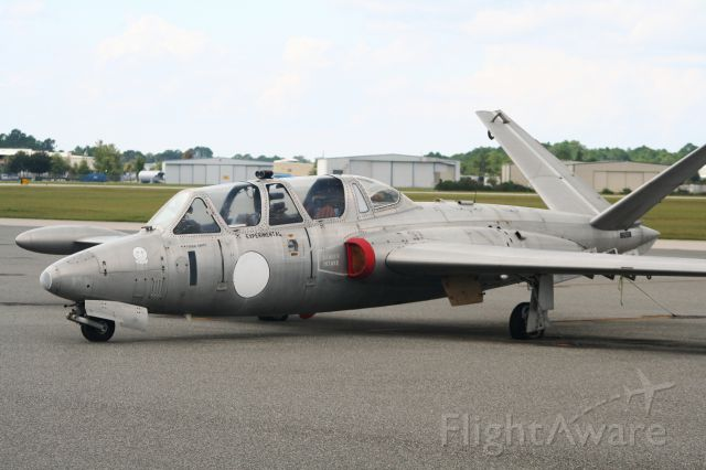 N6050N — - Fouga CM170 parked on the deck at Deland Florida.  Doesn