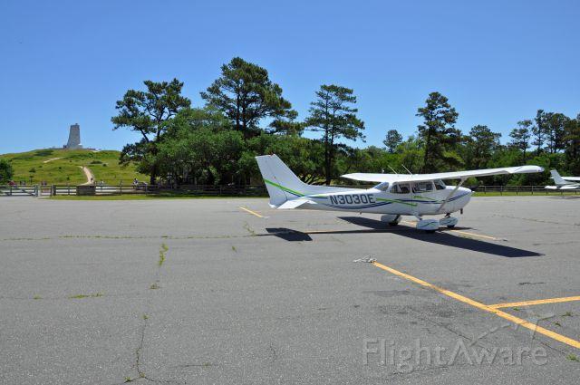 Cessna Skyhawk (N3030E) - My first flight to First Flight, March 2015