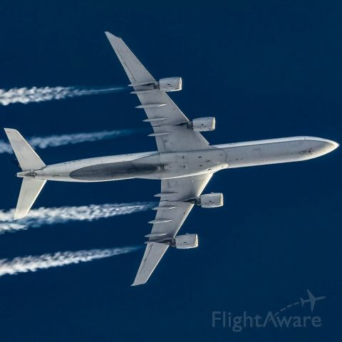 Airbus A340-300 (D-AIHS) - D-AIHS over KLAX at 39000ft