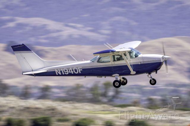 Cessna Skyhawk (N1940F) - Cessna 172N departs Livermore Municipal Airport (CA). May 2021
