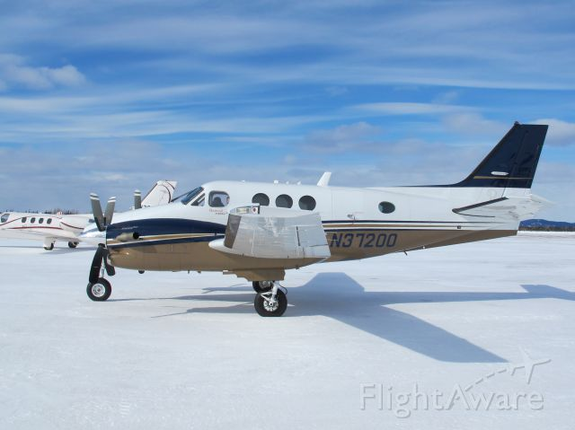 Beechcraft King Air 90 (N37200) - A very nice King Air 90. Flown over the Atlantic to the USA by Earl Covel, a highly experienced ferry pilot.