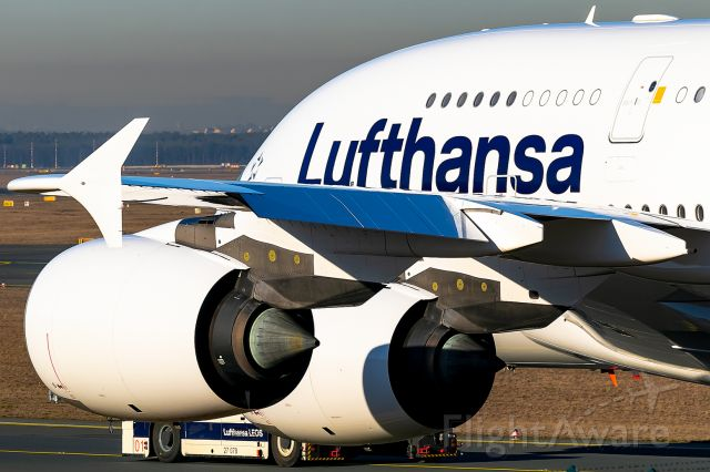 Airbus A380-800 (D-AIMC) - new livery!!