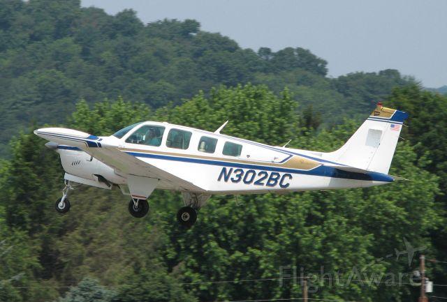 Beechcraft Bonanza (36) (N302BC) - Departing 2010 Sentamental Journey.