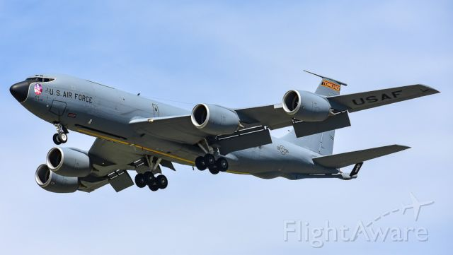 Boeing C-135FR Stratotanker (57-1478) - SODA81 on final during a series of Touch and Goes.