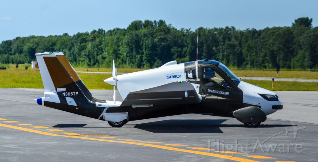 Experimental  (N305TF) - The second Terrafugia/Geely flying car built. N305TF pictured doing what appeared to be takeoff run testing/engine testing.br /Shot with a Nikon D3200 w/ Nikkor 70-300mmbr /Best viewed in Full Size