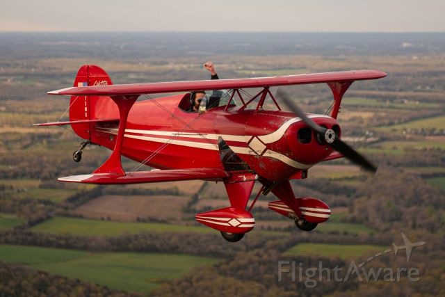 PITTS Special (S-1) (N73MB) - RJ Gritter pilots the Pitts S-1A over Midland, VA