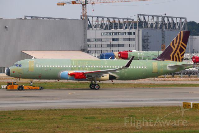 Airbus A320neo (VT-TNZ) - MSN 10075