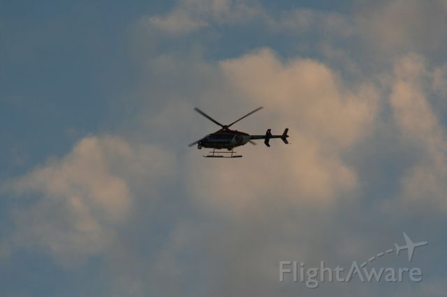 Bell 407 (N69F) - It was a slow news day in Seattle....'till the Marina caught fire.