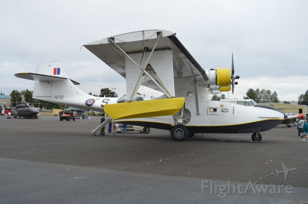Canadair CL-1 Catalina (N9767) - On static display at the 2019 Warbirds Over the West fly-in/fundraiser hosted by the B-17 Alliance Museum.