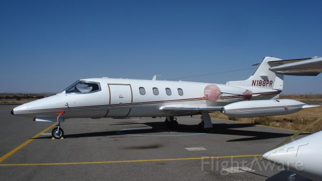 Learjet 25 (N188PR) - I general aviation of Zacatecas Airport