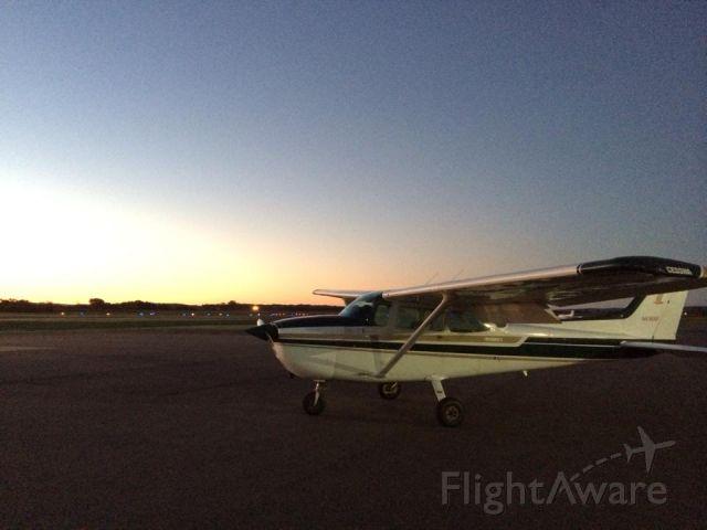Cessna Skyhawk (N4968F) - Taken at sunrise at KDLL 10-3-2013 by Bill Crahen.
