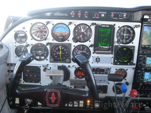 Piper PA-24 Comanche (N9XT) - Westbound, 10,000 feet, 164 KTS GS, enroute Cherokee Fly In to see my old friends.