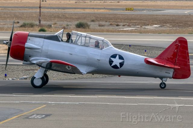 North American T-6 Texan (N2269U) - North American SNJ-4 at Livermore Municipal Airport, Livermore CA. November 2020