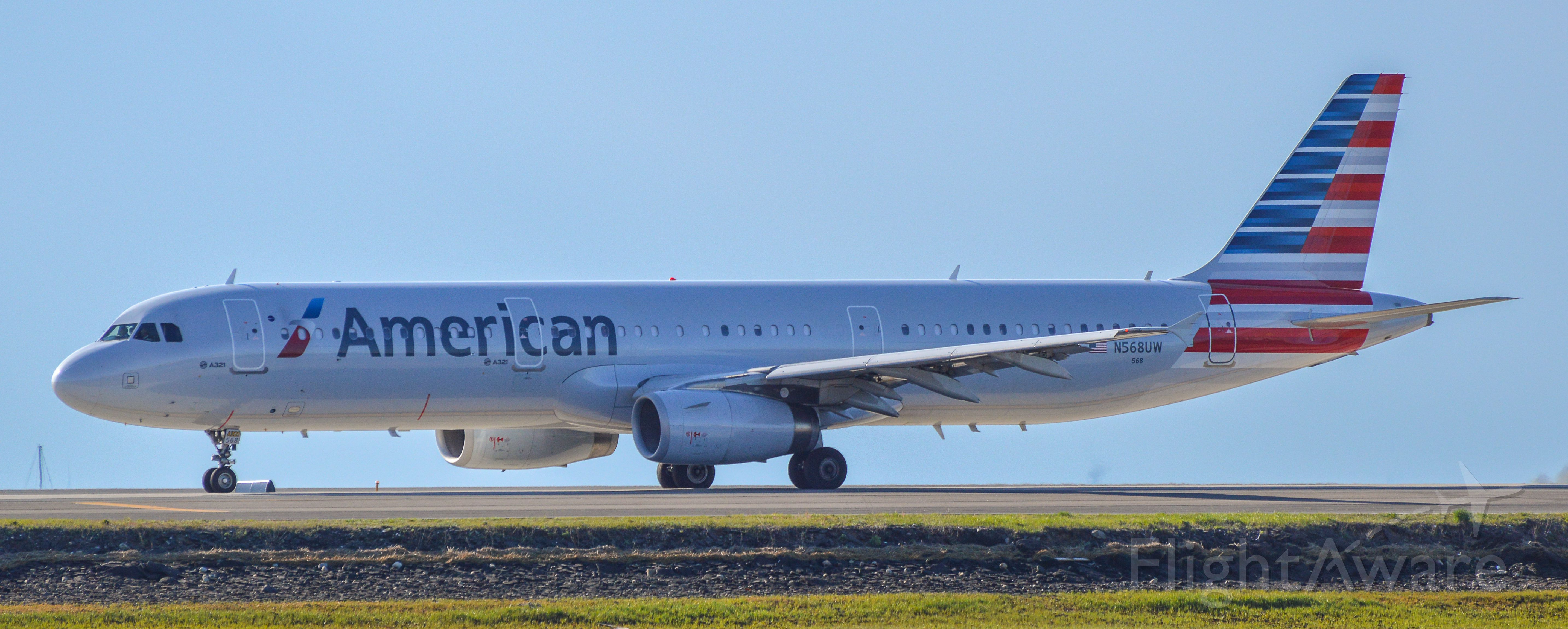Airbus A321 (N568UW) - Shot with a Nikon D3200 w/ Nikkor 70-300mmbr /Best viewed in Full Size