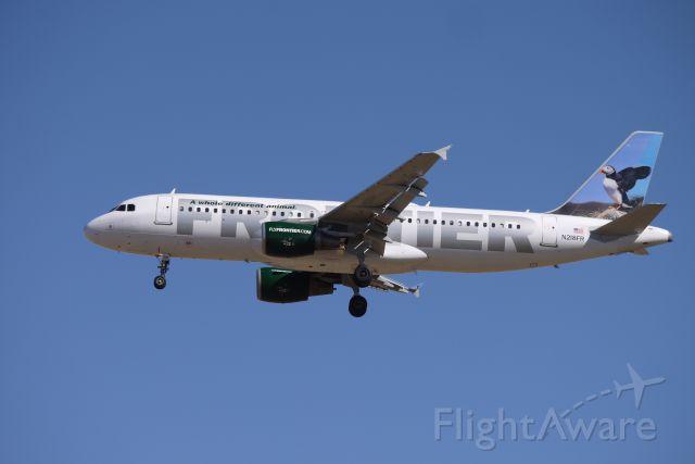 Airbus A320 (N218FR)
