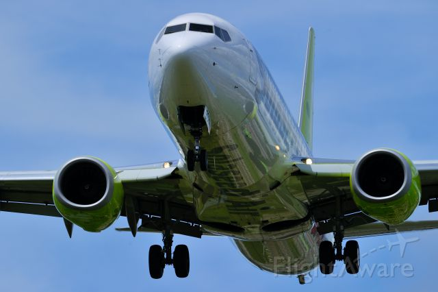 Boeing 737-800 (JA808X) - Solaseed Air Inc.(株式会社ソラシドエア)