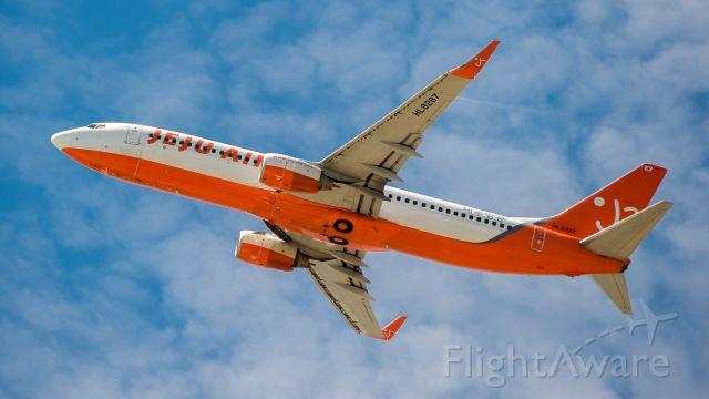 Boeing 737-800 (HL8287) - 2016:08:27 11:00:30