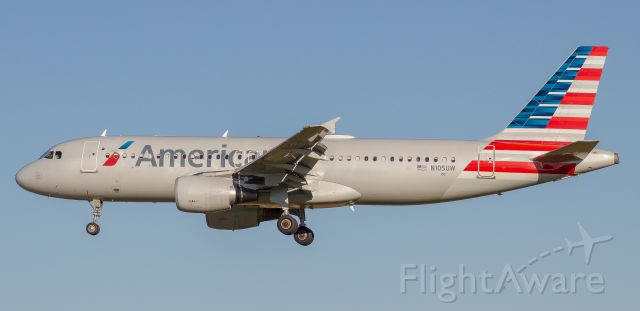 Airbus A320 (N105UW) - Notice anything wrong with this bird?