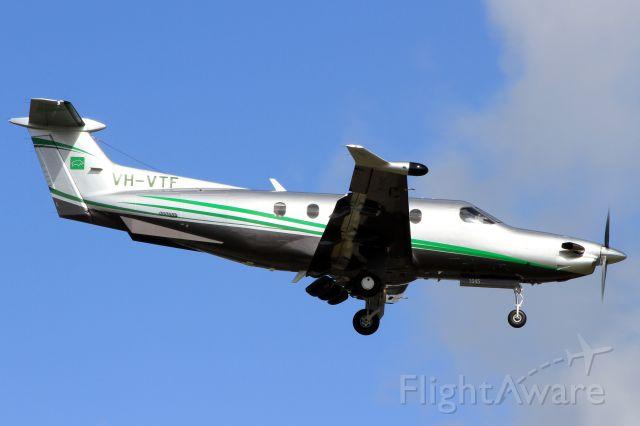 Pilatus PC-12 (VH-VTF)